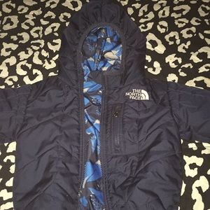 Reversible 6 to 12 month north face jacket